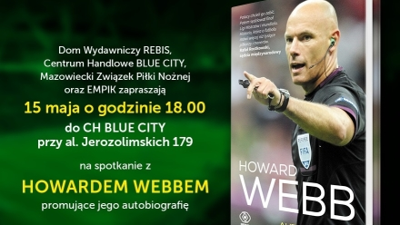 Howard Webb odwiedza Blue City