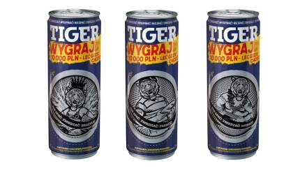 Loteria TIGER Energy Drink porywa w świat!