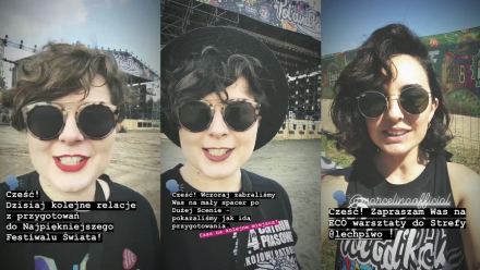 #OdKulis: Pol'and'Rock Festival 2018 – festiwalowe Instagram Stories