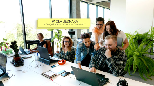Wioleta Jednaka, CCO @edrone and Customer Care team