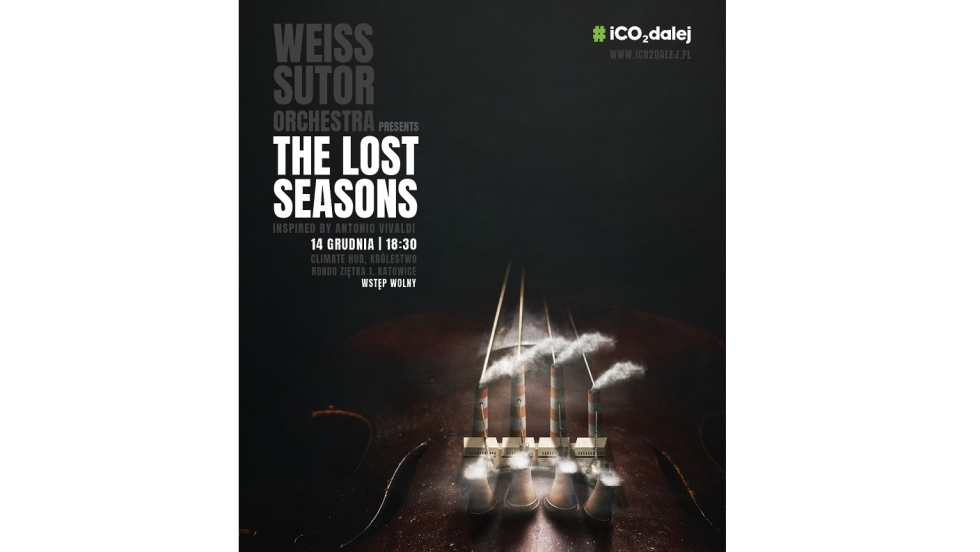 "Koncert ""The Lost Seasons – inspired by Antonio Vivaldi"" – finał kampanii #iCO2dalej"
