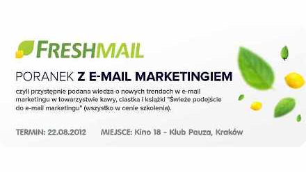 Poranek z e-mail marketingiem