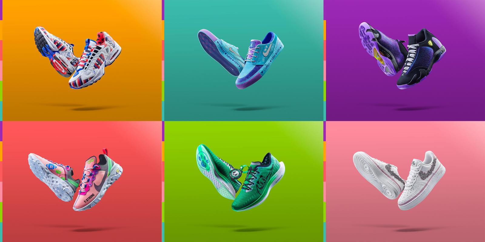 Marka Nike stworzyła 6 par butów inspirowanych przewlekłymi