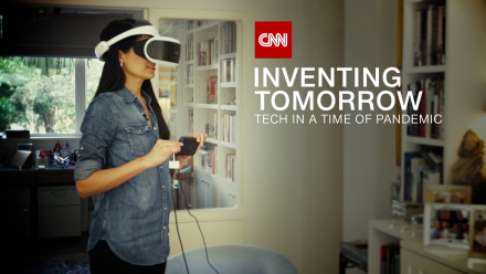 "Technologią w koronawirusa – nowy program CNN ""Inventing Tomorrow: Tech in a time of Pandemic"""