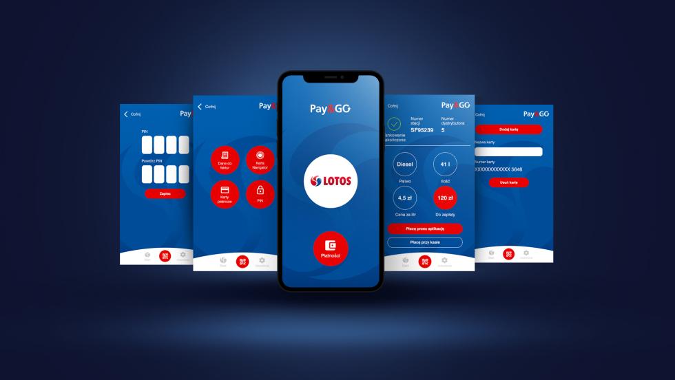 Startuje aplikacja LOTOS Pay&Go