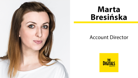 Marta Bresińska account directorem w The Digitals (Grupa S/F)