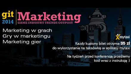 Konferencja Game Industry Trends: Marketing 2014  – marketing w grach, gry w marketingu, marketing gier