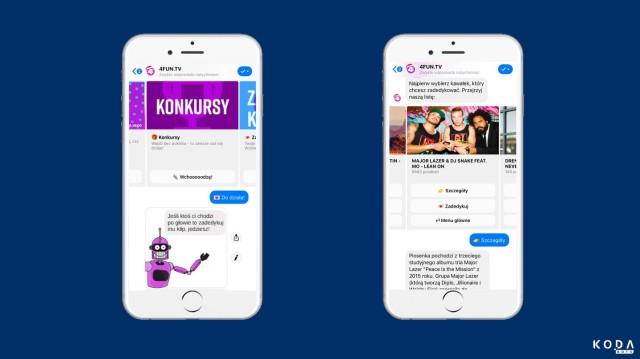 Chatboty przejmują konkursy 4FUN.TV