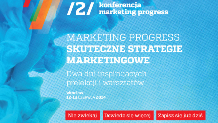 Konferencja Marketing Progress - klucz do skutecznej strategii marketingowej.