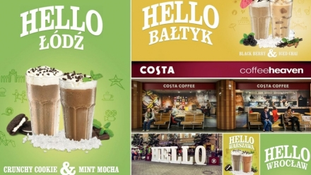 Costa Coffee wita lato
