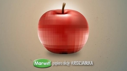 #Jedzjabłka i real-time marketing marki Marwit na Instagramie