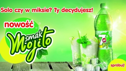 7UP o smaku Mojito z marketingowym wsparciem