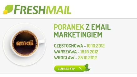 Poranki z email marketingiem od FreshMail