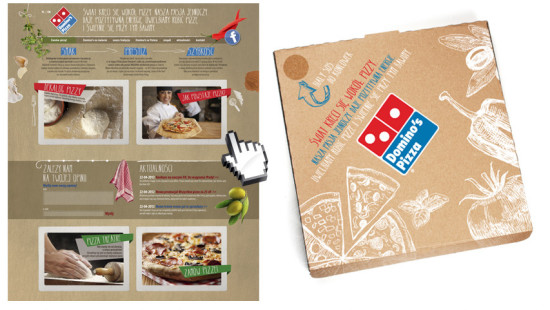 Brands Alive advertising zmienia oblicze Domino's Pizza