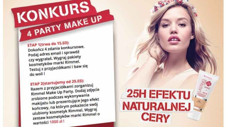 Rimmel Lasting Finish 25H Nude - case study kampanii digitalowej