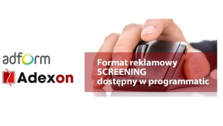 Screening programmatic w Adexon