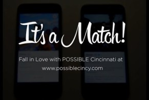 POSSIBLE Cincinnati Invites you on a Tinder Date