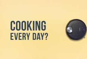 Cooking every day? Deebot every day!