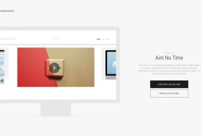 Squarespace: Aint No Time Theme