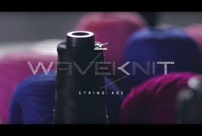 Mizuno:  Mizuno WaveKnit String Ads