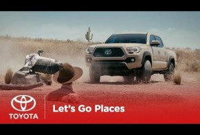 Toyota: Let's Go Places - Tough as Chuck