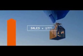 Tele2: Flying House