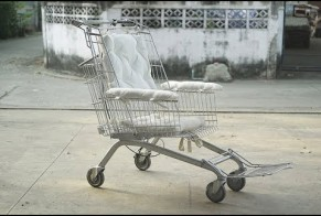 Tesco Lotus: Cart Wheelchair