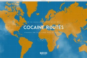 Netflix Narcos: Cocaine Routes