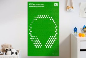 TD Bank: Coin Poster