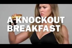 Carl's Jr. | Ronda Rousey Cinnamon Swirl French Toast Breakfast Sandwich Commercial