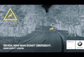 BMW: Night vision