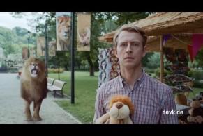 DEVK Insurance: The lion sleeps tonight