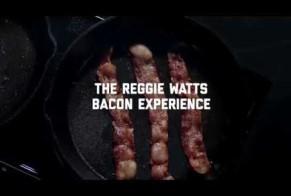The Reggie Watts bacon experience