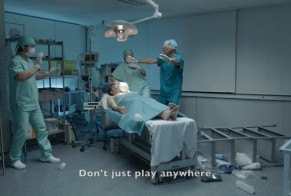 Don't just play anywhere, 2