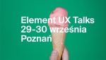 Element UX Talks