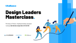 UXalliance Design Leaders Masterclass