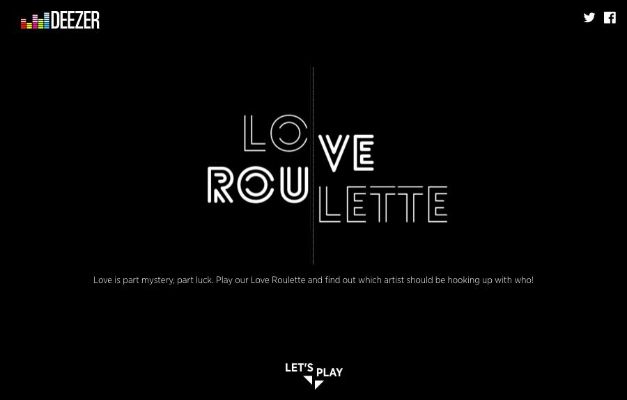 love roulett